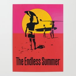 California Summer Surf from The Endless Waves Poster