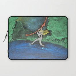 Walking on Water Laptop Sleeve