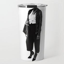 Headless Woman Travel Mug