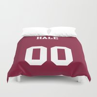 derek hale Duvet Covers featuring HALE - 00 by Mobscene93