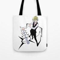 durarara Tote Bags featuring Heiwajima Shizuo 2 by Prince Of Darkness