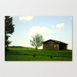The front-yard house  Canvas Print
