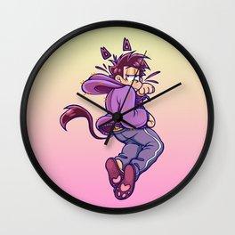 Neko Ichimatsu  Wall Clock