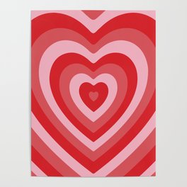 Hypnotic Hearts Poster