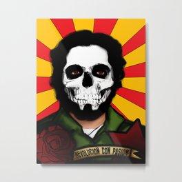Calavera & Revolucion  Metal Print