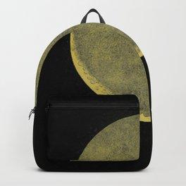 Antique Crescent Moon Backpack