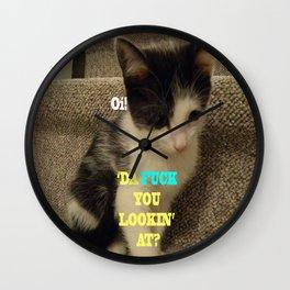 Sophia The Cat #3 [Tex's Owner] Wall Clock