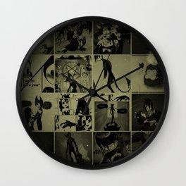 Bendy vintage Wall Clock