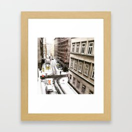 Architecture of Snow - An Austrian Winter Framed Art Print