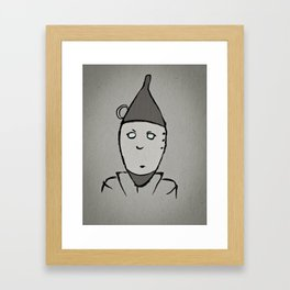 Tin Man Framed Art Print