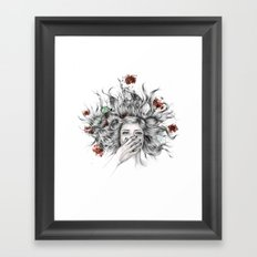 It Overflows Framed Art Print