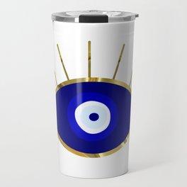 I See You Evil Eye Travel Mug