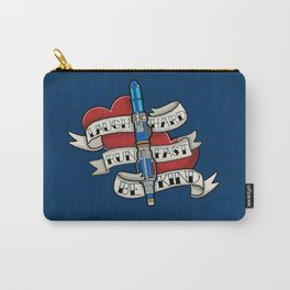 Laugh Hard, Run Fast, Be Kind Carry-All Pouch
