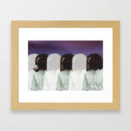 Stationery Repition Framed Art Print
