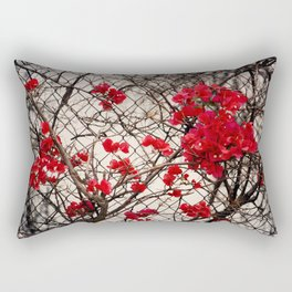 Fenced in Beauty Rectangular Pillow