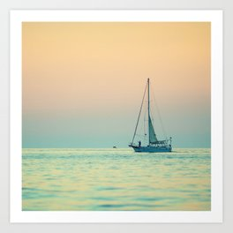 Sailboat Costa Rica Art Print