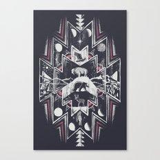 Phases (Dark) Canvas Print