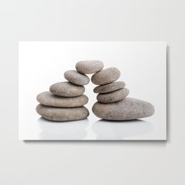 Spa pyramid Metal Print