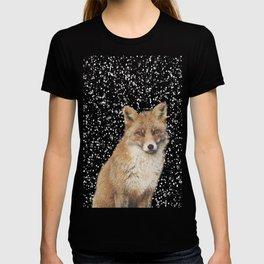 Arctic Snow Red Fox T-shirt