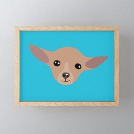 chihuahua love Framed Mini Art Print