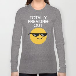 Froze Colored Glasses Long Sleeve T-shirt