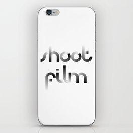Shoot Film iPhone Skin