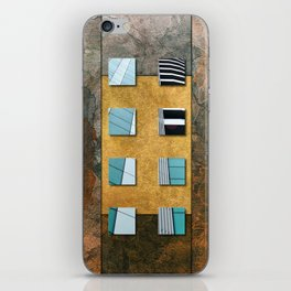 SQUARE AMBIENCE - Natural Lines iPhone Skin