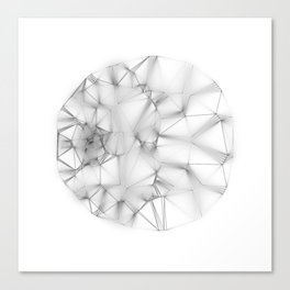 Wireframe Composition No. 30 Canvas Print