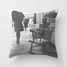 The rocking chair Throw Pillow
