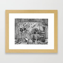 Don't Worry Be Happy 2 Framed Art Print