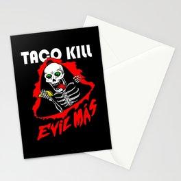 TACO KILLER Stationery Cards