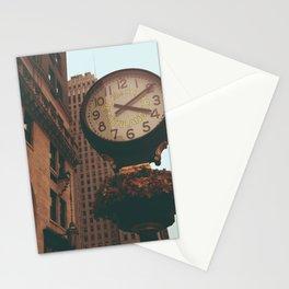 The Sherry Netherland Clock Stationery Cards