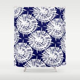 Indi-Go Round - Rasha Stokes Shower Curtain
