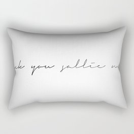 Fuck You Sallie Mae Rectangular Pillow
