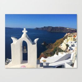 Oia, Greece (photo) Canvas Print