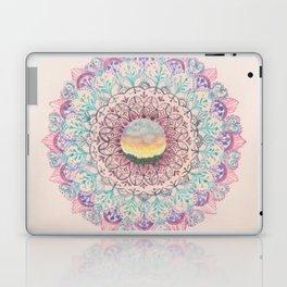 Watercolour Sunset Mandala Laptop & iPad Skin