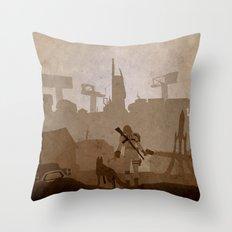 Fallout 4 Throw Pillow