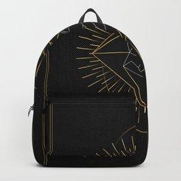 Tarot geometric #10: Wolf Backpack