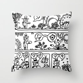Comic: page one of Horticultural Fudge Throw Pillow