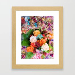It's Been a Good Year for the Roses Framed Art Print