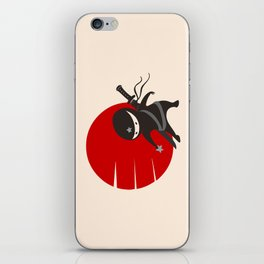 LITTLE NINJA STAR iPhone Skin