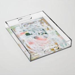 Emerging Abstact Acrylic Tray