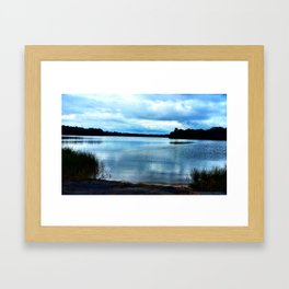 Still Pond Framed Art Print