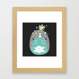 Japanese Fairy Tale \\ Piece 1 Framed Art Print