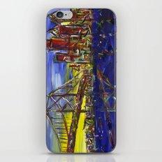 Philly Skyline with Ben Franklin Bridge iPhone & iPod Skin