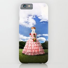 Semolina Sheep on Her Way to the Ball iPhone Case
