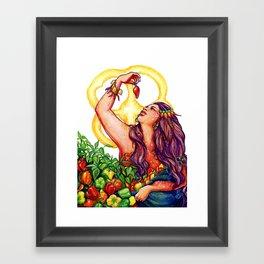 Pimienta Framed Art Print