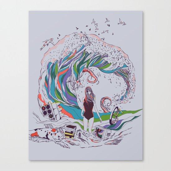 Ocean Myths Canvas Print