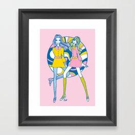 Minidress Dollygirls Framed Art Print