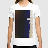 denver T-shirts featuring Denver Flyby by Augustina Trejo